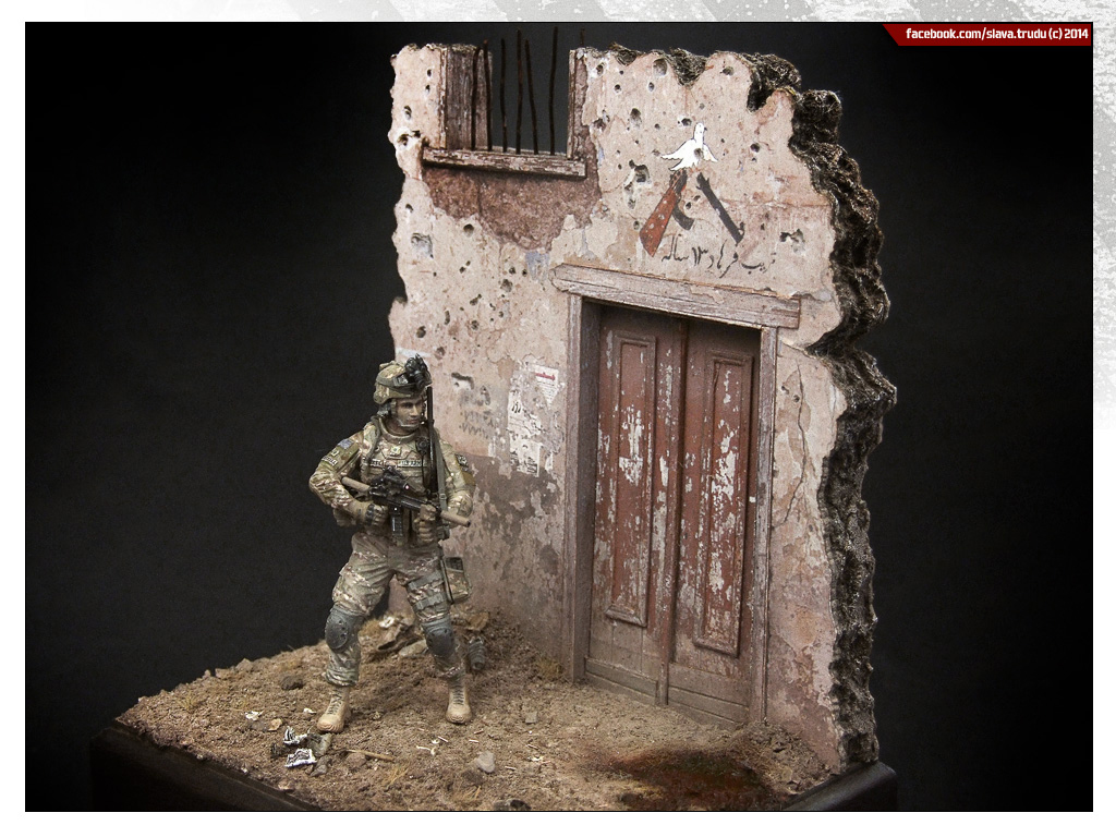 Dioramas and Vignettes: U.S. GI, Afghanistan, photo #1