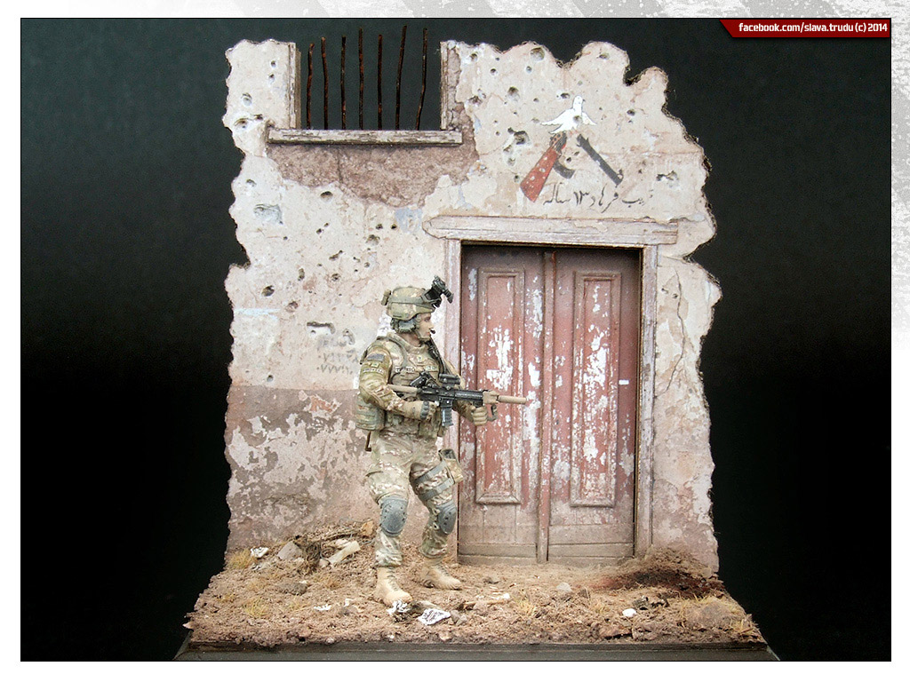 Dioramas and Vignettes: U.S. GI, Afghanistan, photo #4