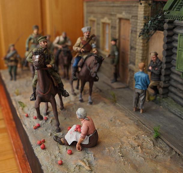 Dioramas and Vignettes: People army