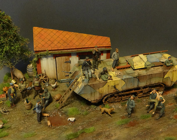 Dioramas and Vignettes: Victors and losers