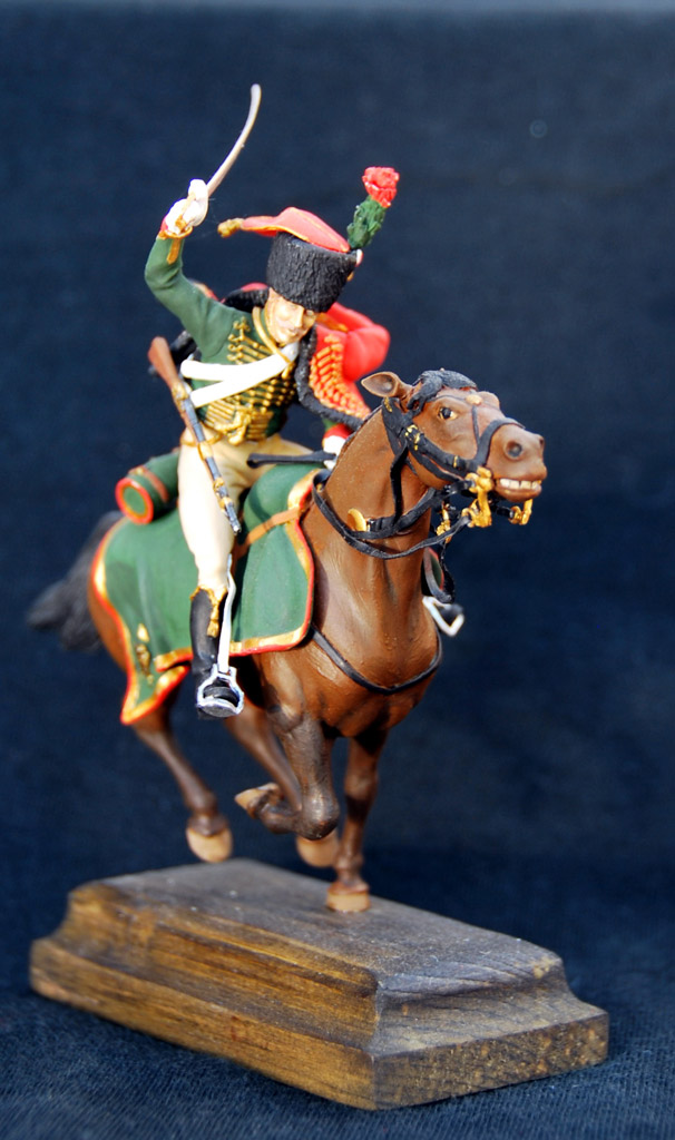 Figures: Guards chasseur, Napoleon army, photo #1
