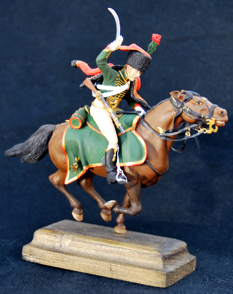 Figures: Guards chasseur, Napoleon army, photo #2