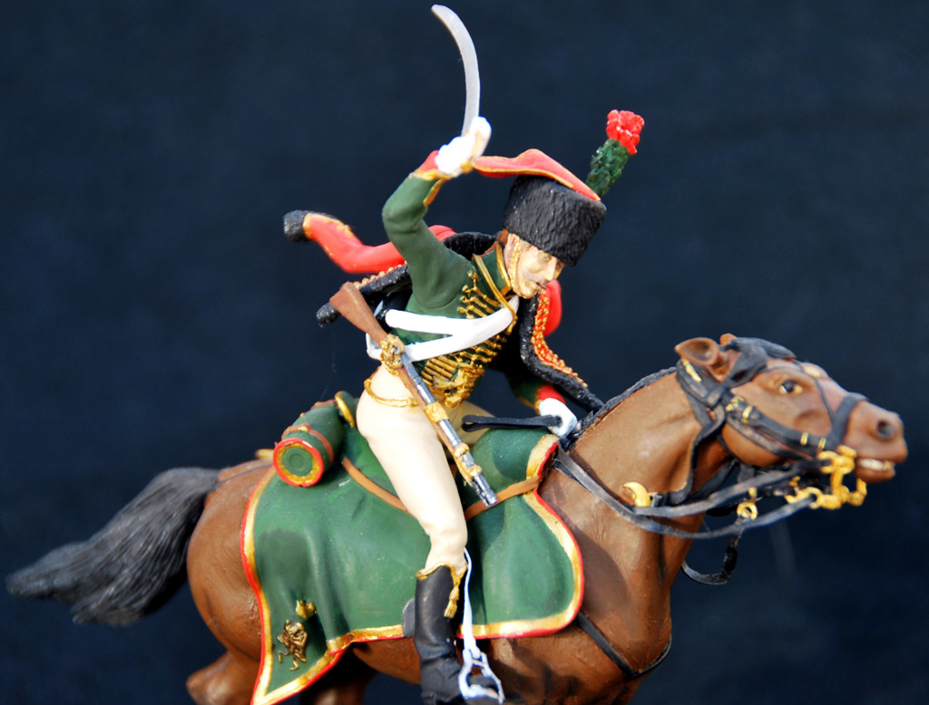 Figures: Guards chasseur, Napoleon army, photo #3