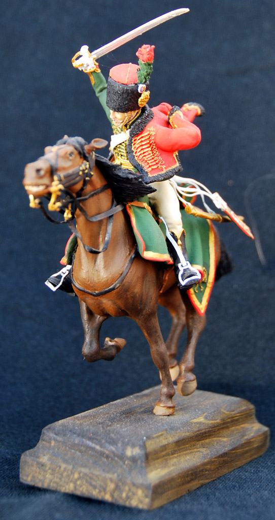 Figures: Guards chasseur, Napoleon army, photo #4