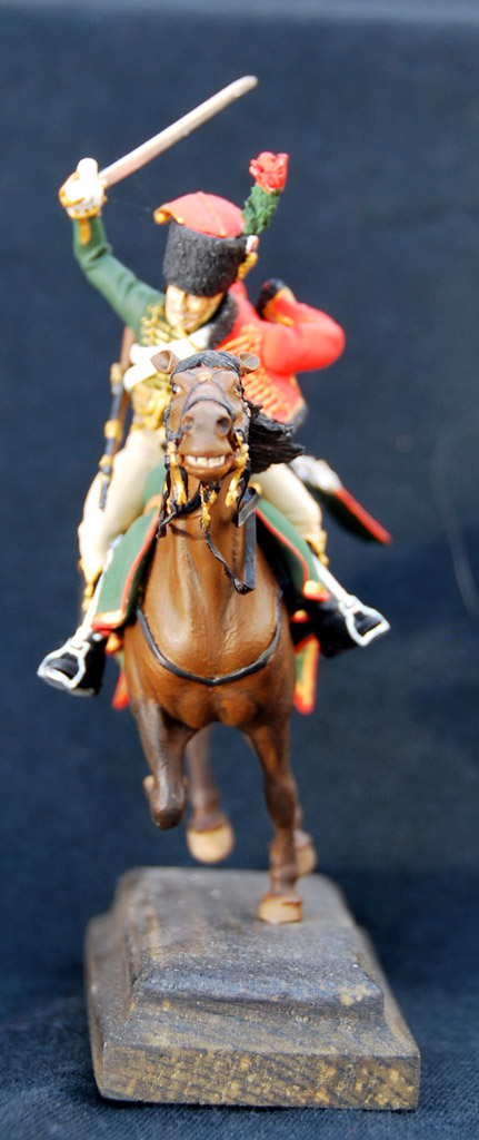 Figures: Guards chasseur, Napoleon army, photo #5