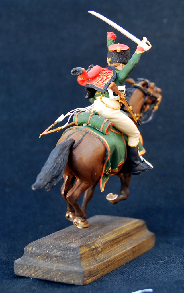 Figures: Guards chasseur, Napoleon army, photo #6