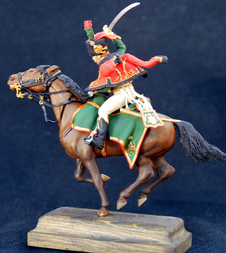 Figures: Guards chasseur, Napoleon army, photo #7