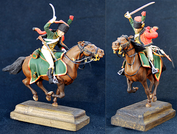 Figures: Guards chasseur, Napoleon army