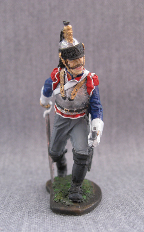 Training Grounds: Private, 5th cuirassiers regt., France, 1810-15, photo #3