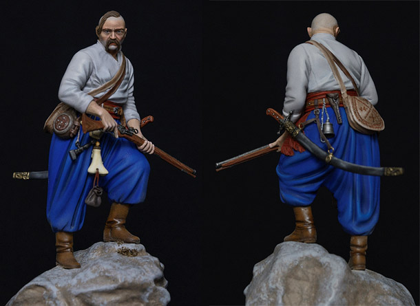 Figures: Zaporozhian cossack