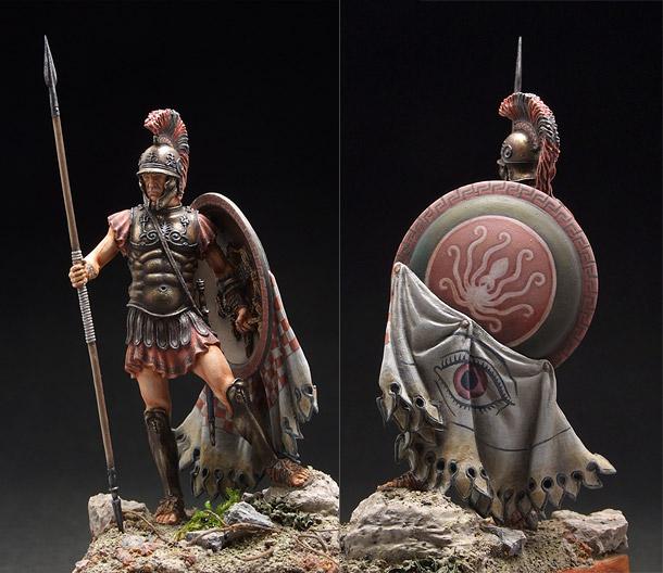 Figures: Greek hoplite