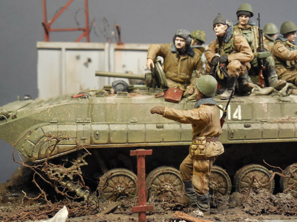 Dioramas and Vignettes: Terrible January in Grozny, photo #1