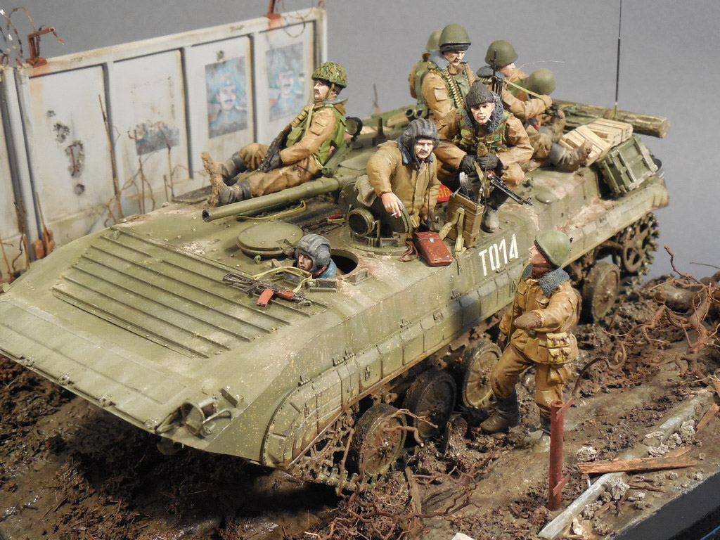 Dioramas and Vignettes: Terrible January in Grozny, photo #10