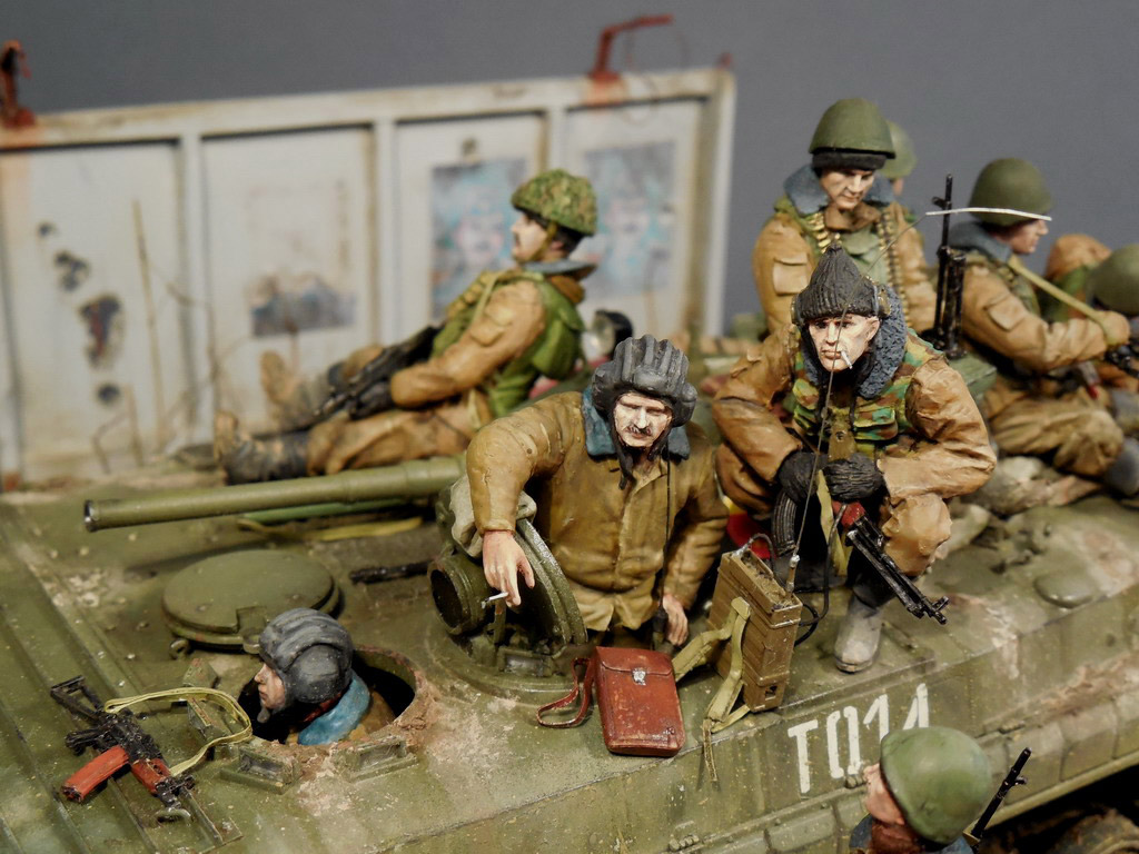 Dioramas and Vignettes: Terrible January in Grozny, photo #11