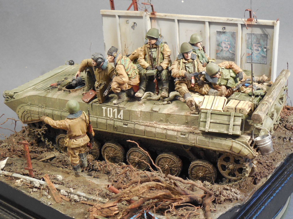 Dioramas and Vignettes: Terrible January in Grozny, photo #3