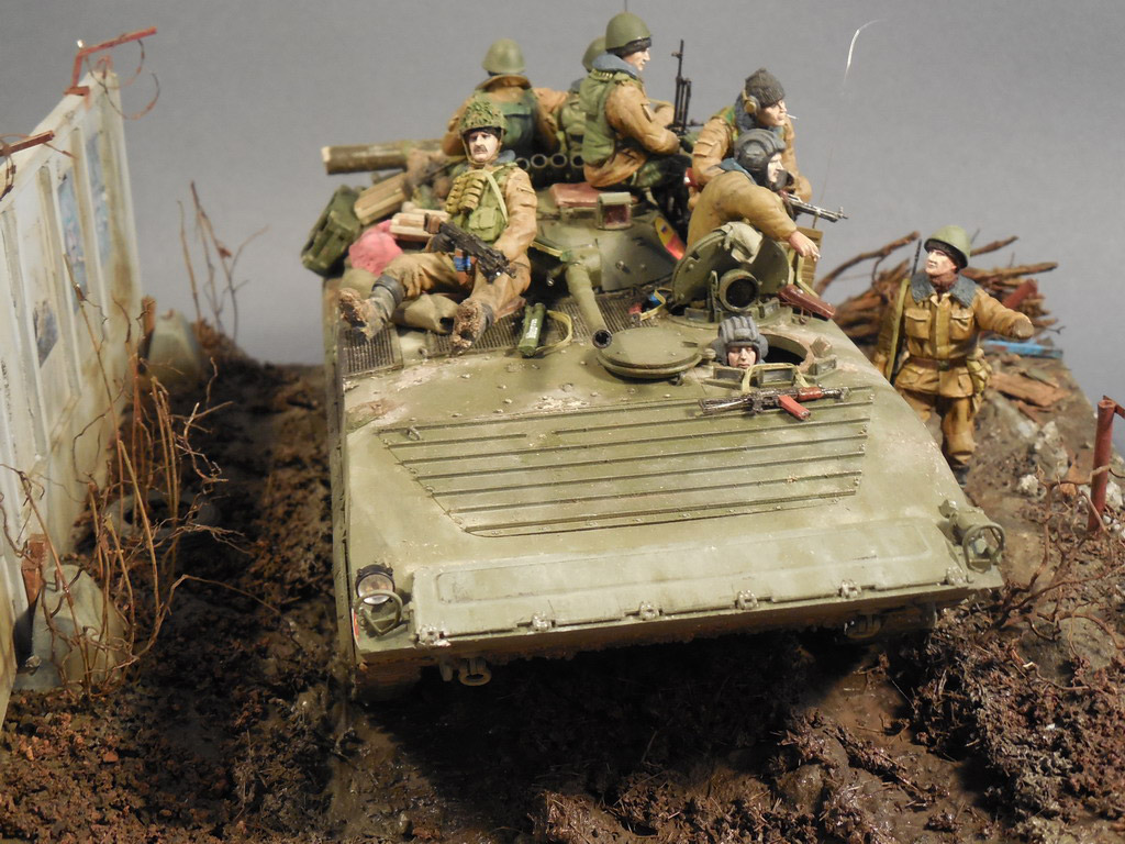 Dioramas and Vignettes: Terrible January in Grozny, photo #9