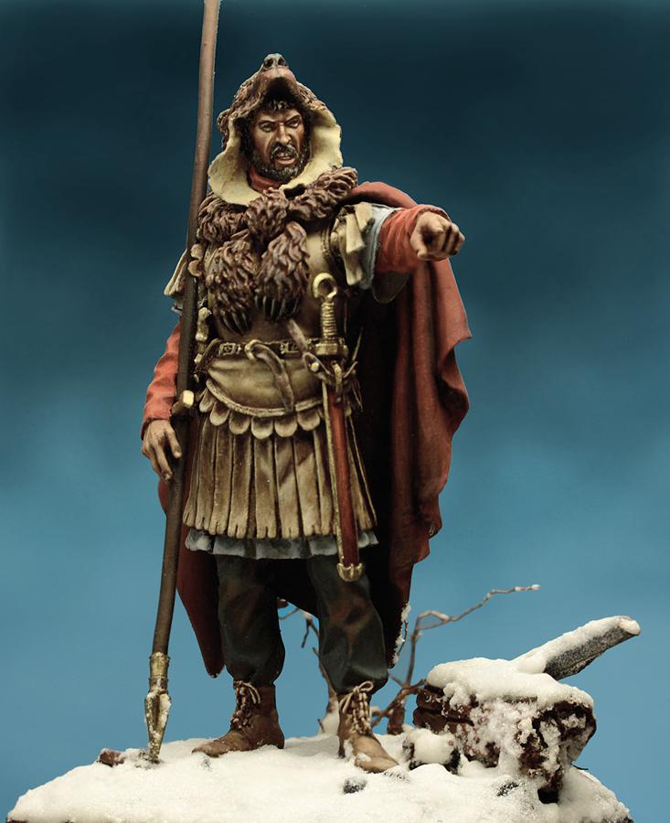 Figures: Roman aquilifer, II-III cent. A.D., photo #3