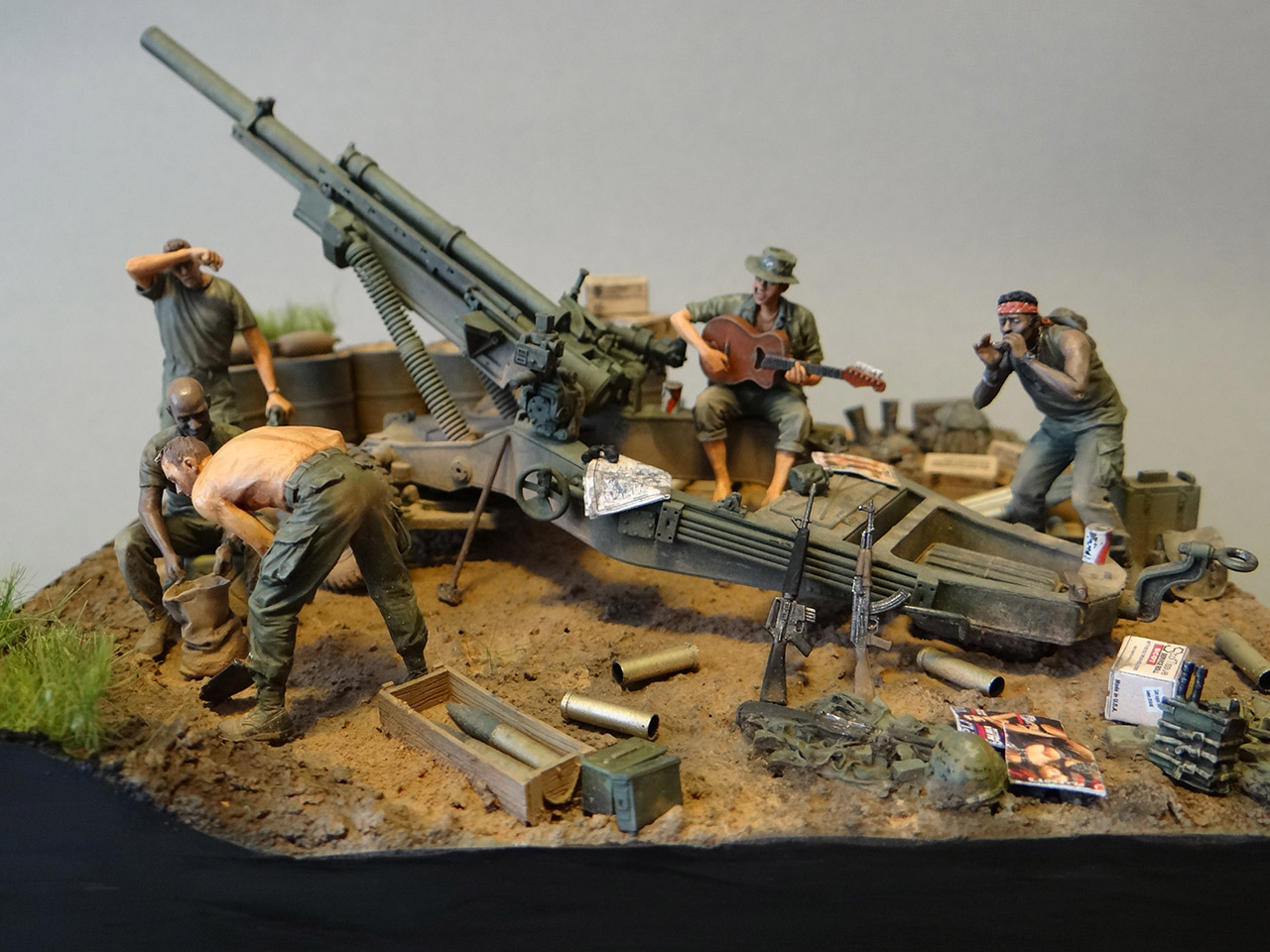 Dioramas and Vignettes: Trench blues, photo #6