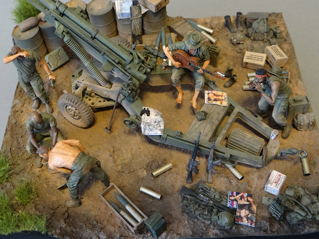 Dioramas and Vignettes: Trench blues, photo #8