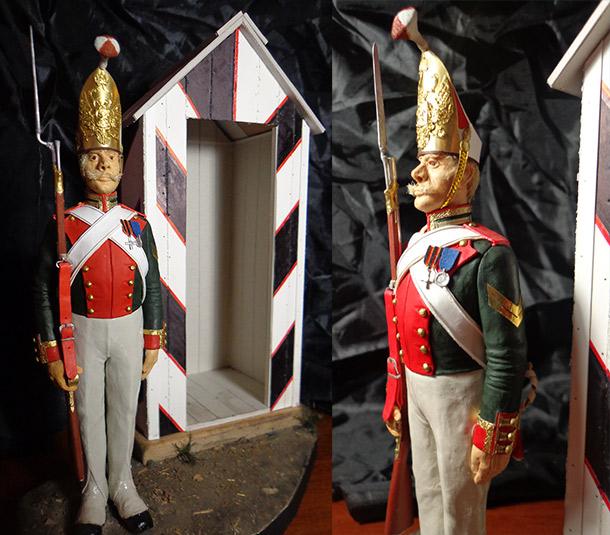 Sculpture: NCO, Leib Guard Pavlovsky grenadiers regt.