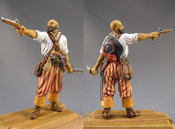 Figures: The Pirate