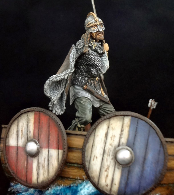 Dioramas and Vignettes: Hövding: the priest of Aegir