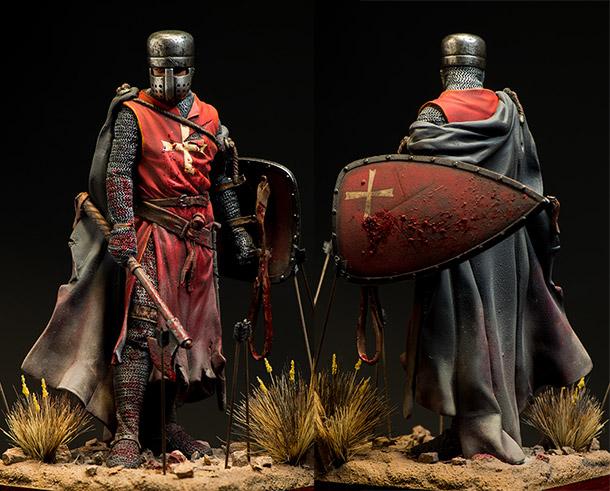 Figures: Knight Hospitaller, XIII century