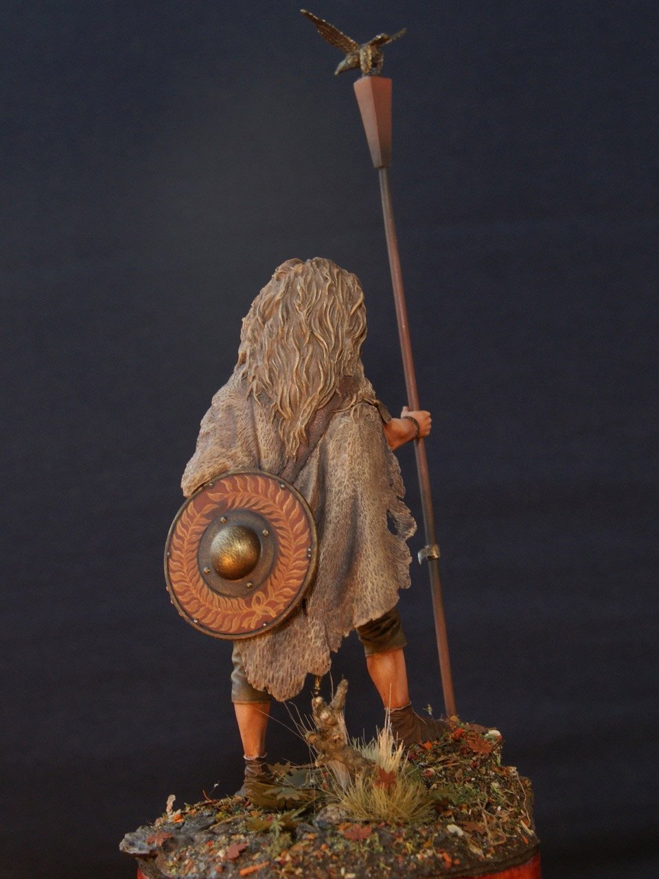 Figures: Standard bearer of the Legion, photo #4