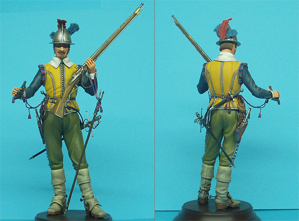 Figures: Dutch Musketeer