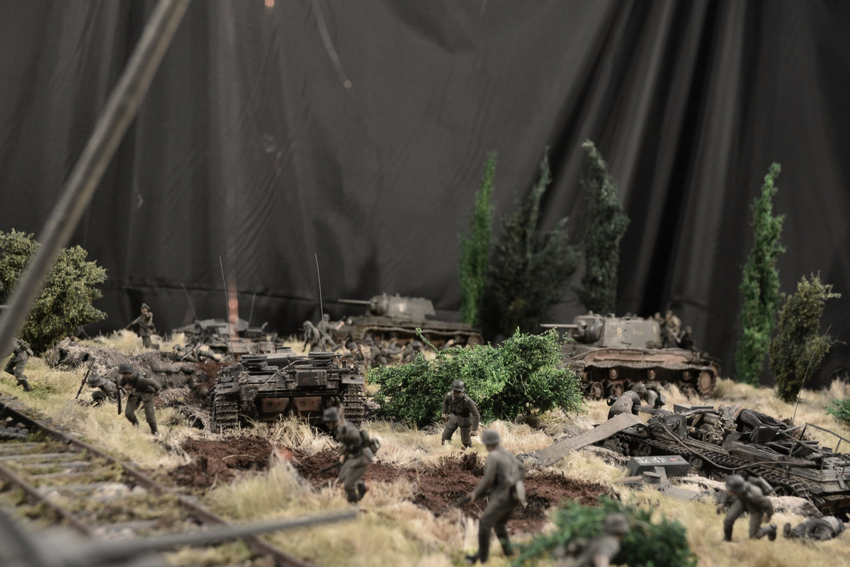 Dioramas and Vignettes: Counter-strike of 5th tank army, photo #10
