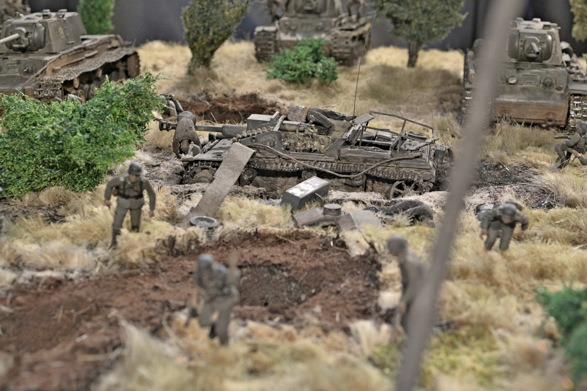 Dioramas and Vignettes: Counter-strike of 5th tank army, photo #16