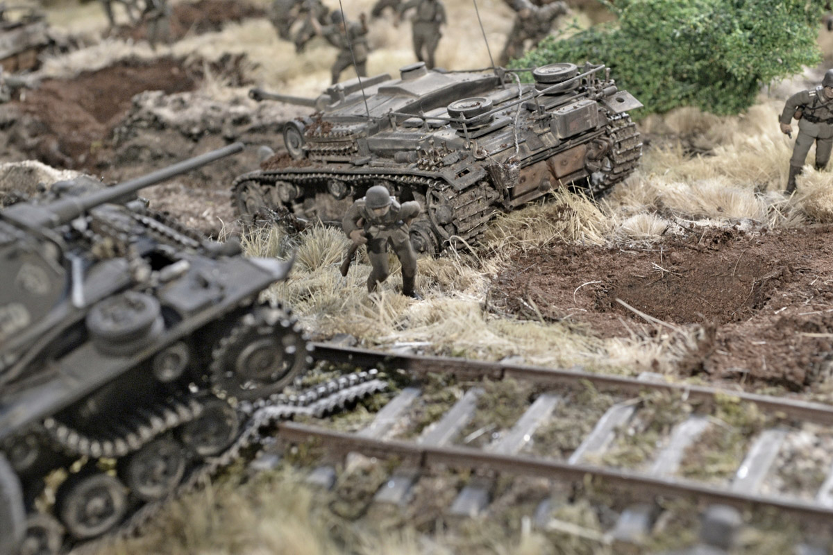 Dioramas and Vignettes: Counter-strike of 5th tank army, photo #17
