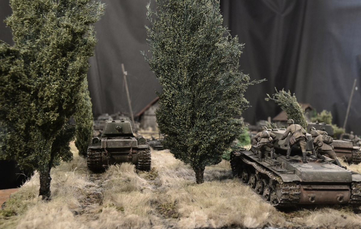 Dioramas and Vignettes: Counter-strike of 5th tank army, photo #18