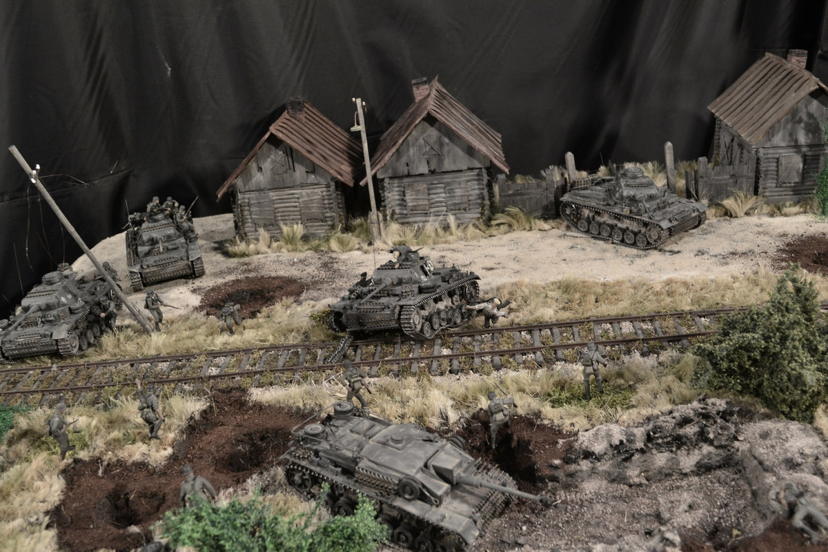 Dioramas and Vignettes: Counter-strike of 5th tank army, photo #21