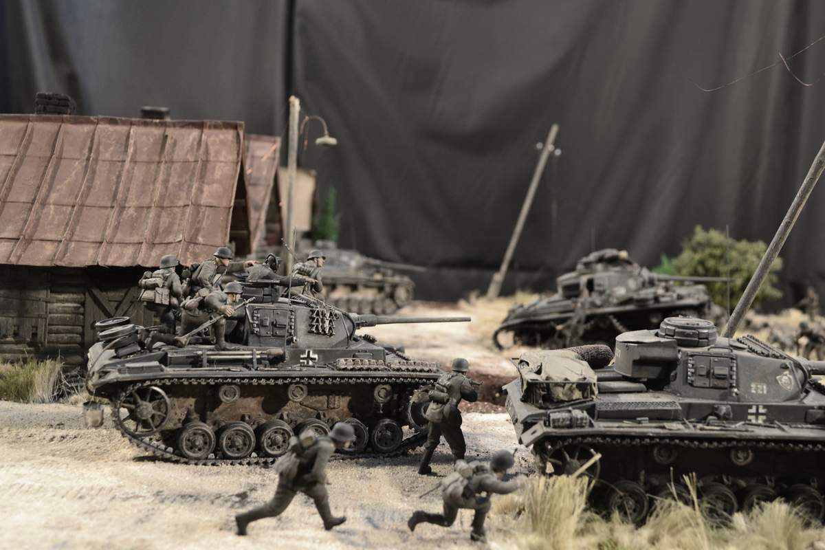 Dioramas and Vignettes: Counter-strike of 5th tank army, photo #22