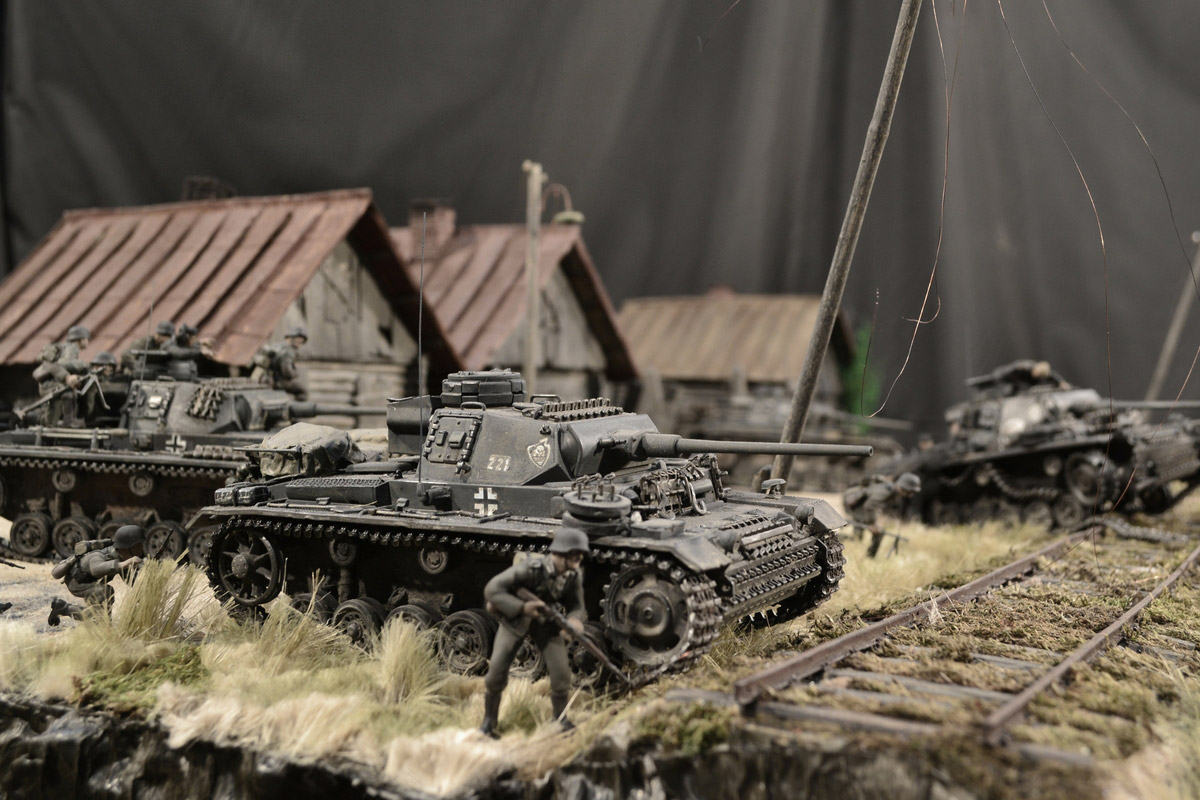 Dioramas and Vignettes: Counter-strike of 5th tank army, photo #23