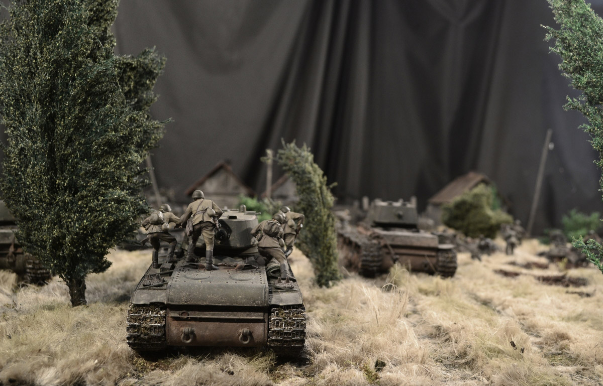 Dioramas and Vignettes: Counter-strike of 5th tank army, photo #24
