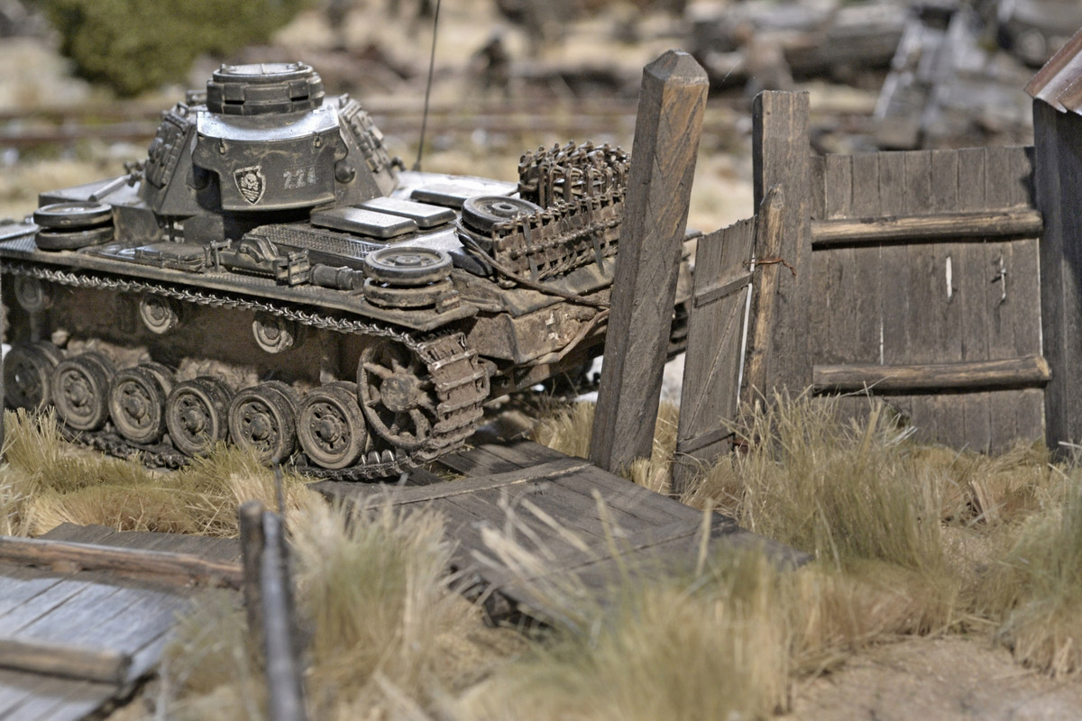 Dioramas and Vignettes: Counter-strike of 5th tank army, photo #26