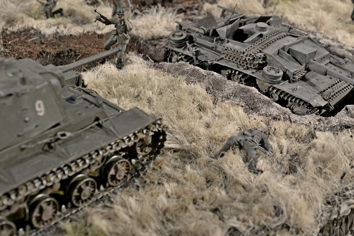 Dioramas and Vignettes: Counter-strike of 5th tank army, photo #34