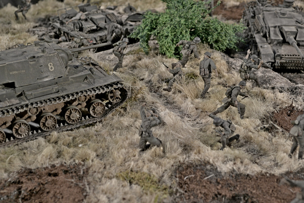 Dioramas and Vignettes: Counter-strike of 5th tank army, photo #36