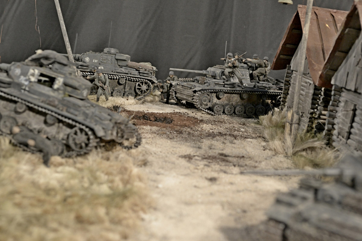 Dioramas and Vignettes: Counter-strike of 5th tank army, photo #40
