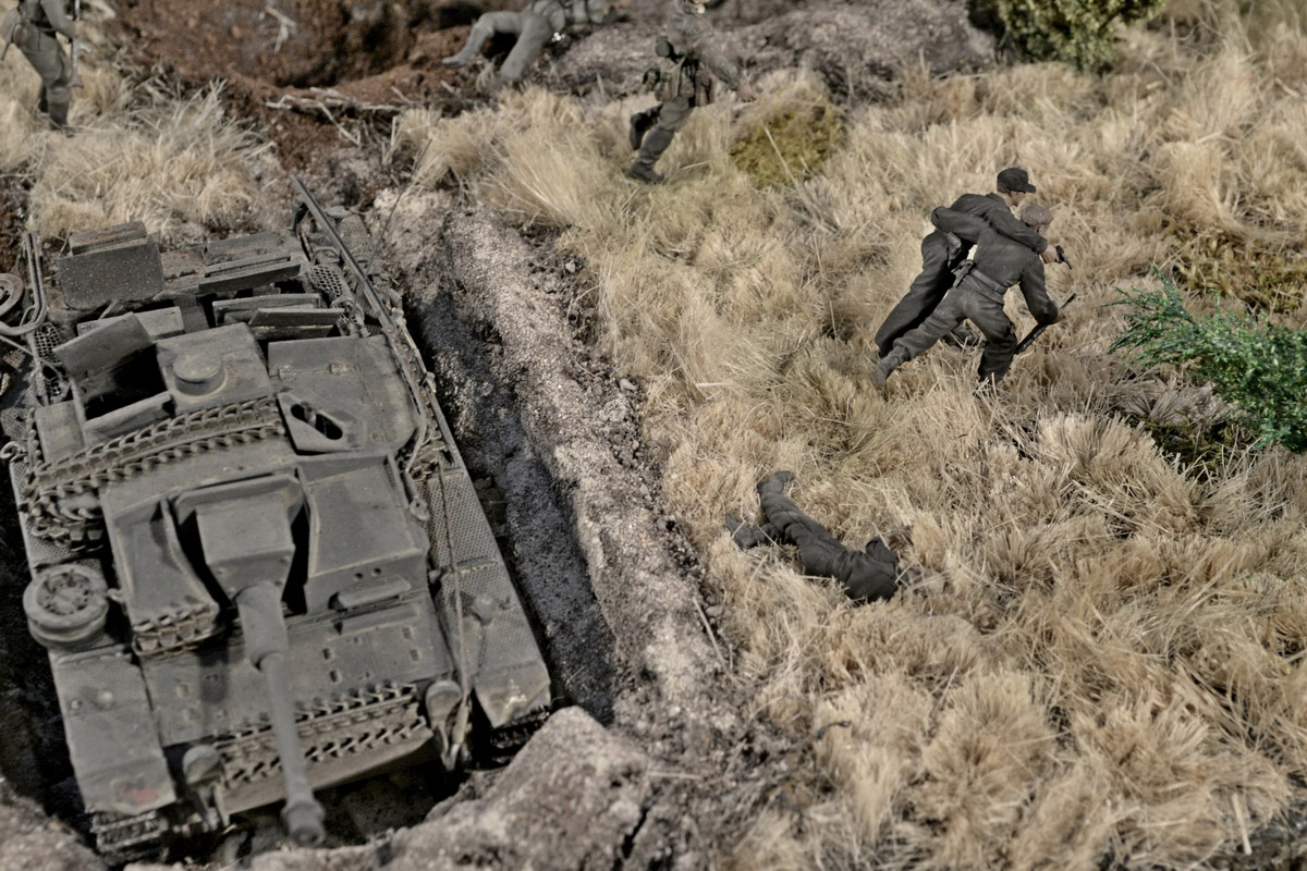 Dioramas and Vignettes: Counter-strike of 5th tank army, photo #41