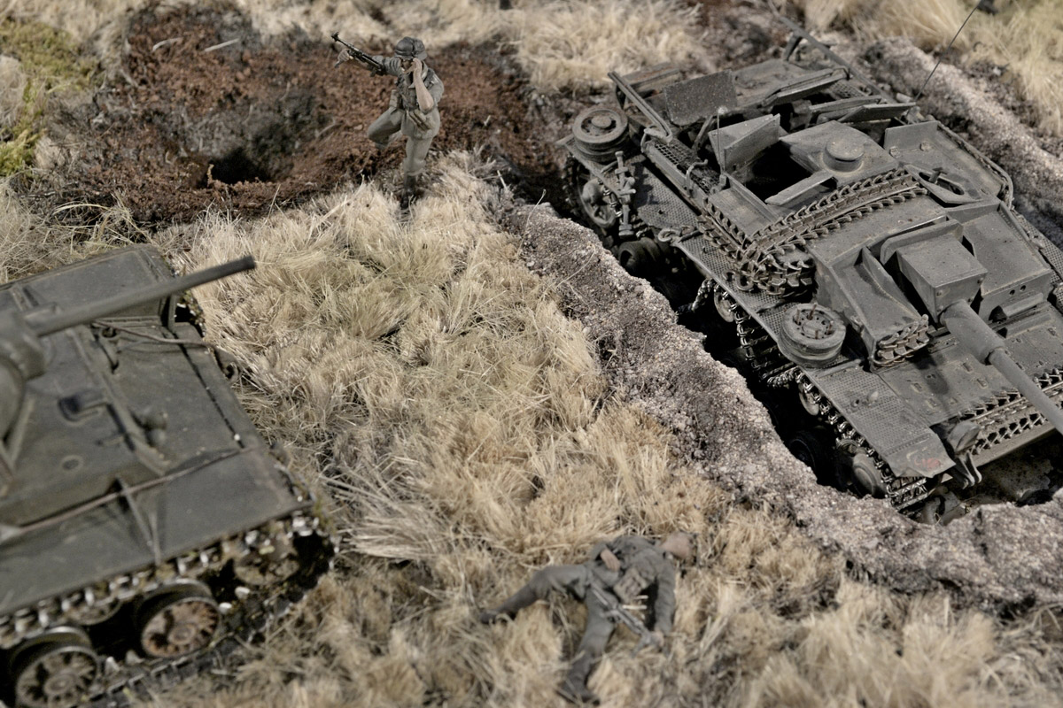 Dioramas and Vignettes: Counter-strike of 5th tank army, photo #42