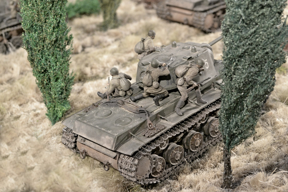 Dioramas and Vignettes: Counter-strike of 5th tank army, photo #45