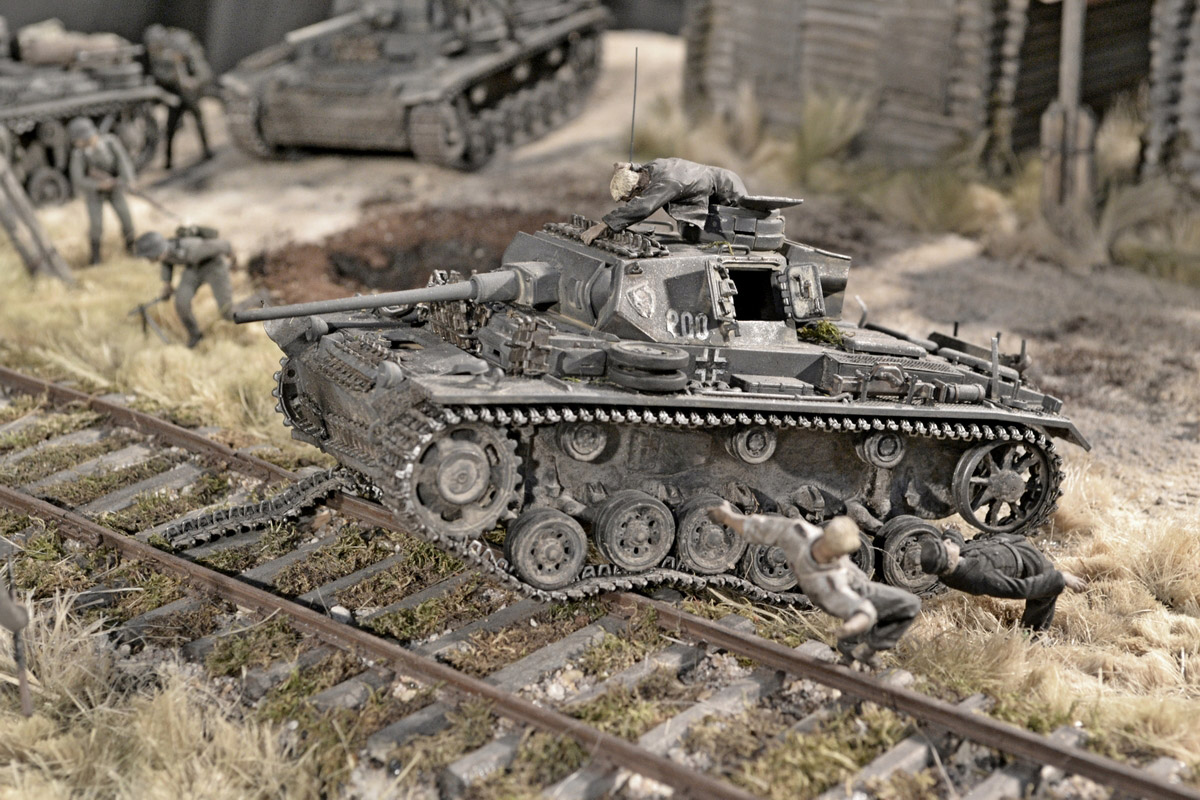 Dioramas and Vignettes: Counter-strike of 5th tank army, photo #46