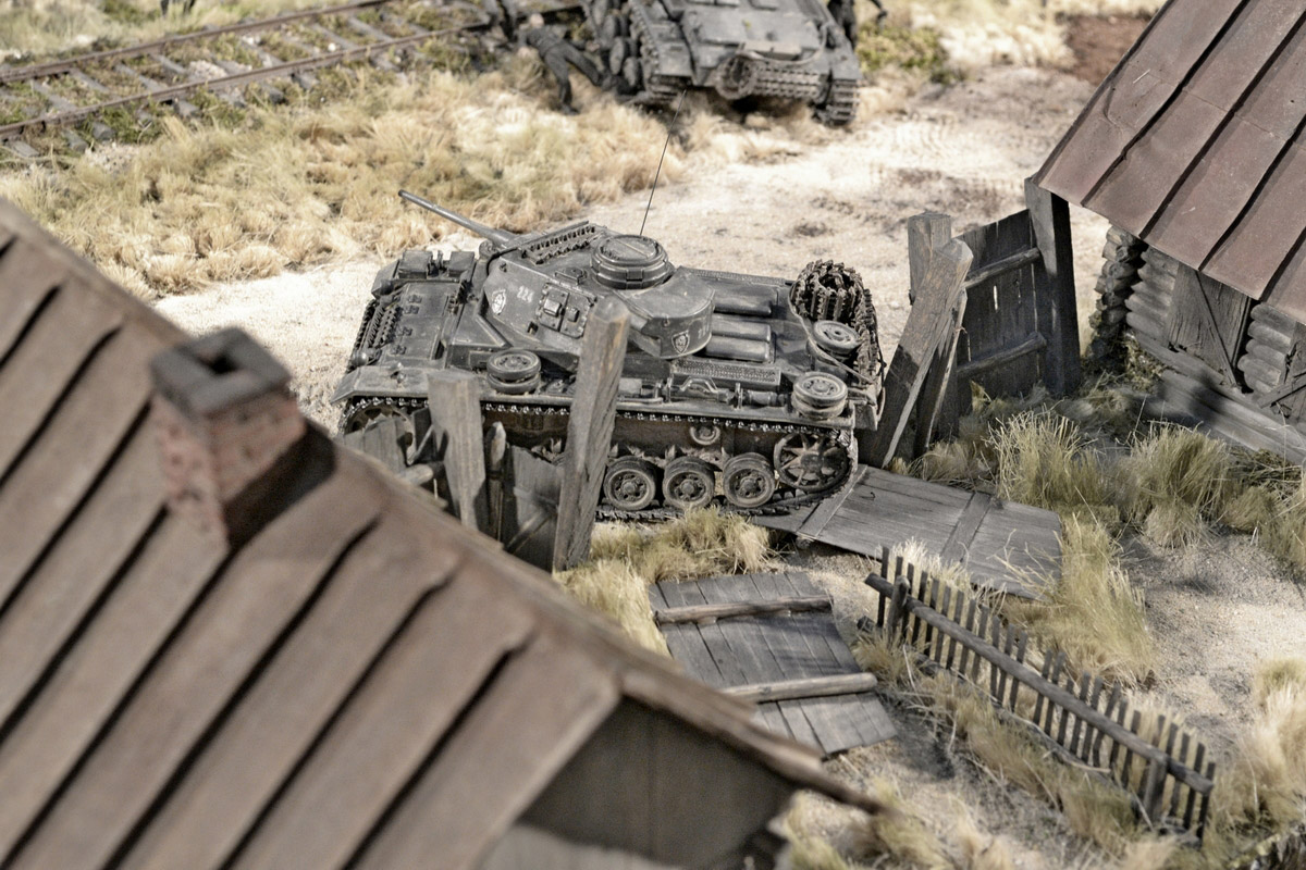 Dioramas and Vignettes: Counter-strike of 5th tank army, photo #47
