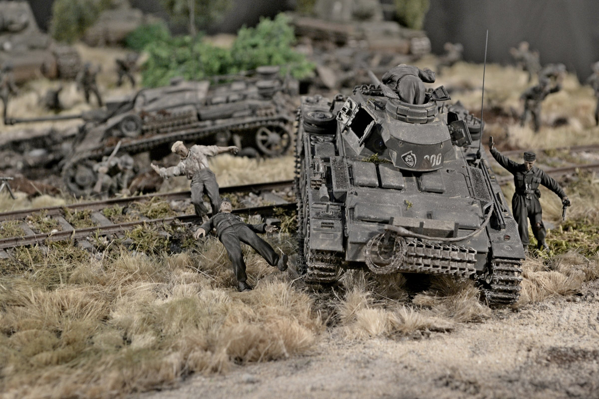 Dioramas and Vignettes: Counter-strike of 5th tank army, photo #48