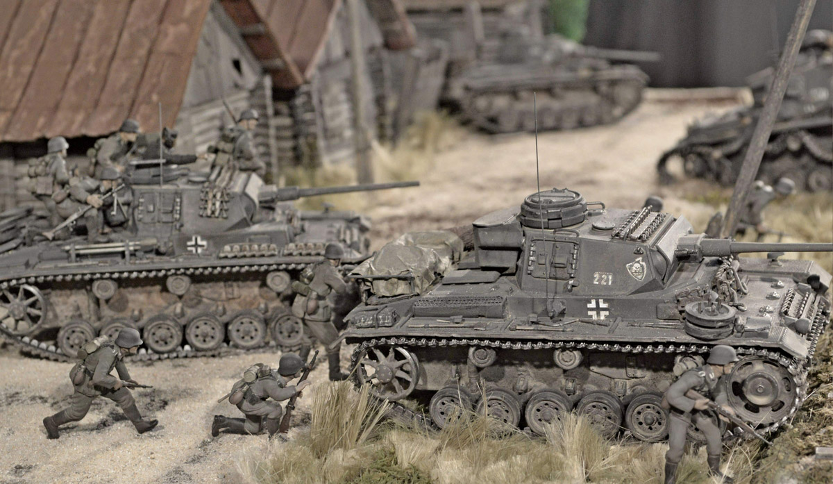 Dioramas and Vignettes: Counter-strike of 5th tank army, photo #53