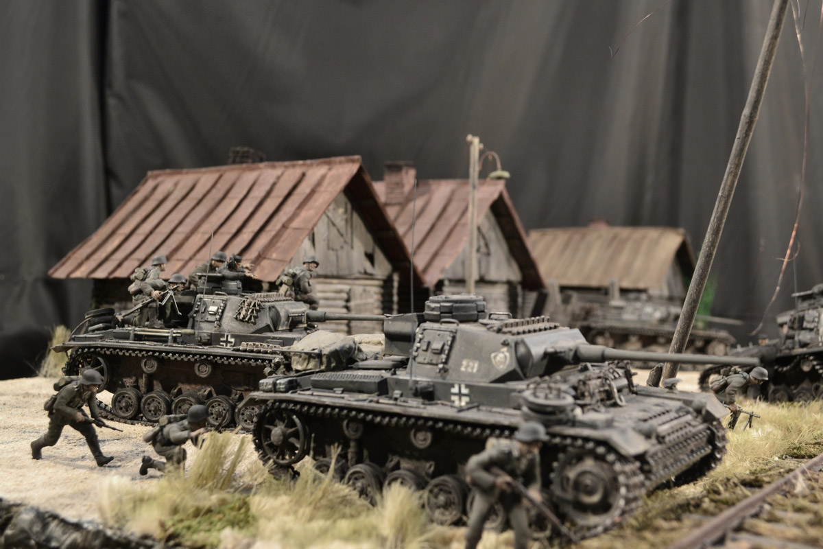 Dioramas and Vignettes: Counter-strike of 5th tank army, photo #8