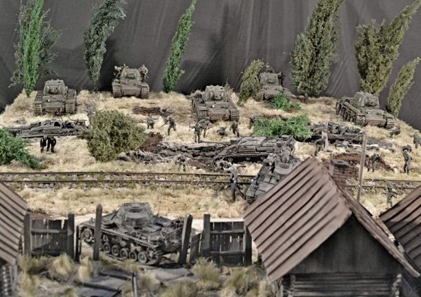 Dioramas and Vignettes: Counter-strike of 5th tank army